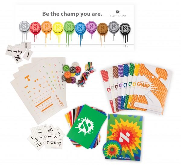 alephchamp_hebrew_reading_champion_aleph_alef_black_level_pro_hebrew_school_Starter_set_colors_medallions